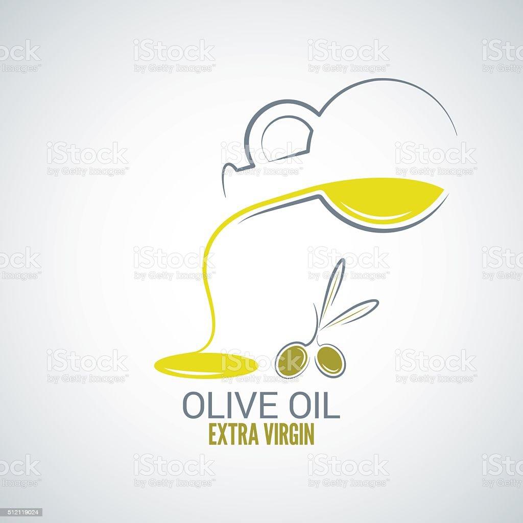olive oil design vector background vector art illustration