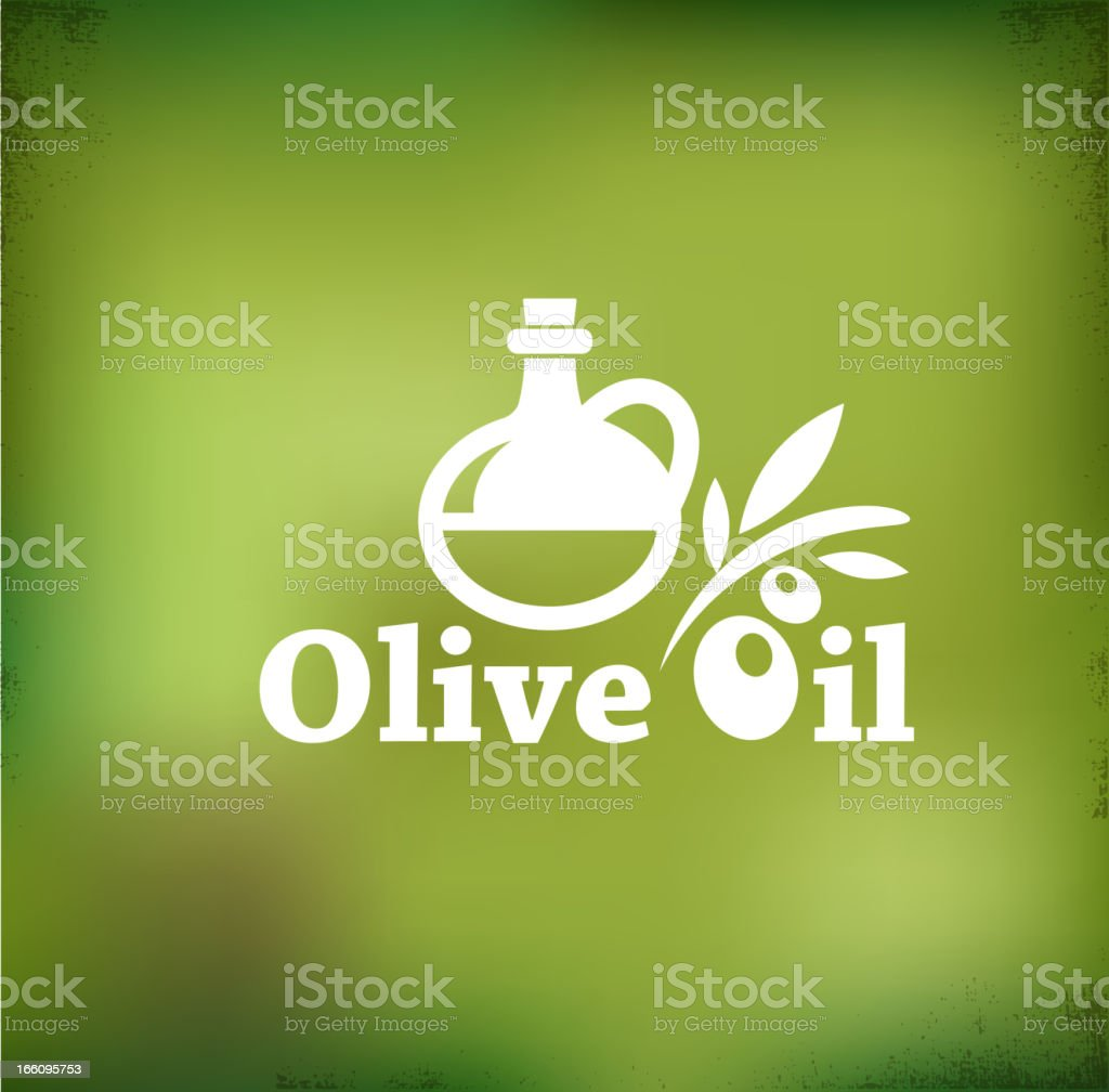 Olive oil vector backgound royalty-free stock vector art