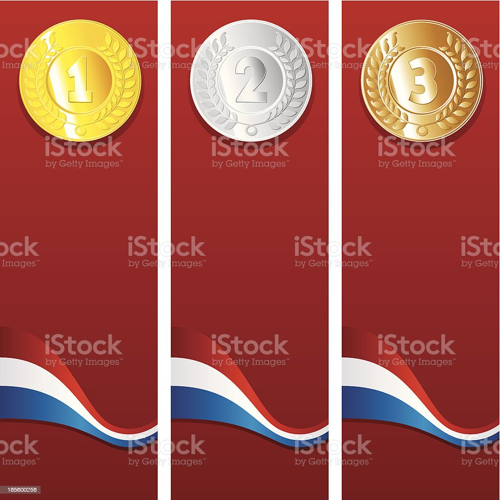 Olympic Background royalty-free stock vector art