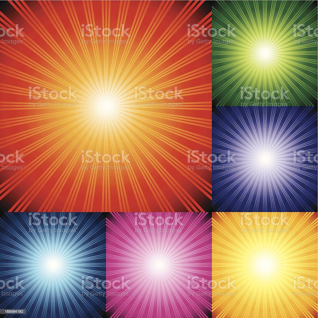 One credit Abstract Background royalty-free stock vector art