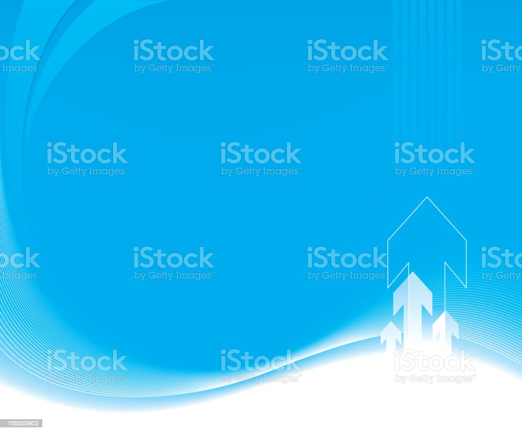 One credit business background royalty-free stock vector art