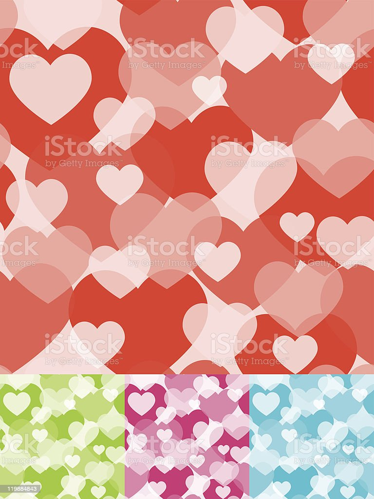 One credit seamless. Heart background. Vector illustration. royalty-free stock vector art