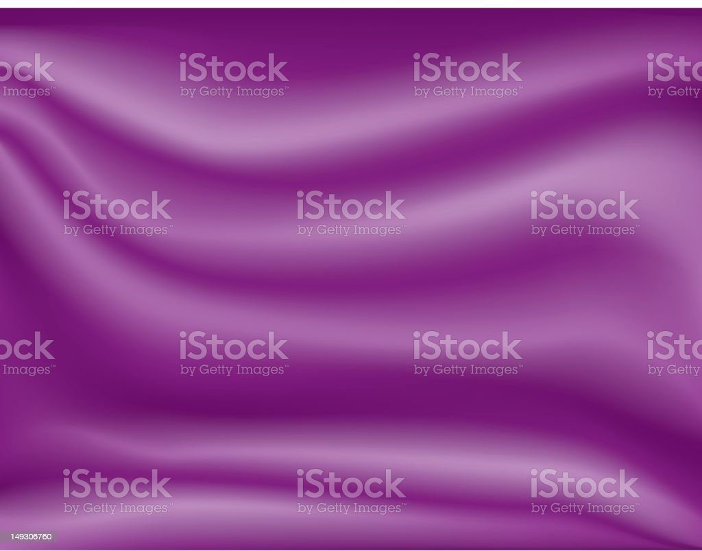 One credit vector background - purple silk royalty-free stock vector art