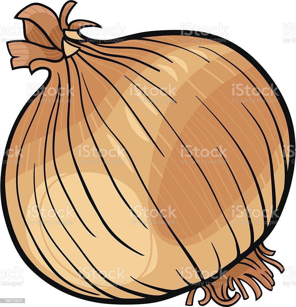 onion vegetable cartoon illustration royalty-free stock vector art