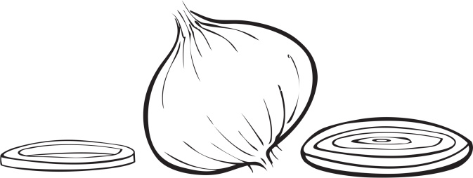 Chopped Onion Clip Art, Vector Images & Illustrations - iStock