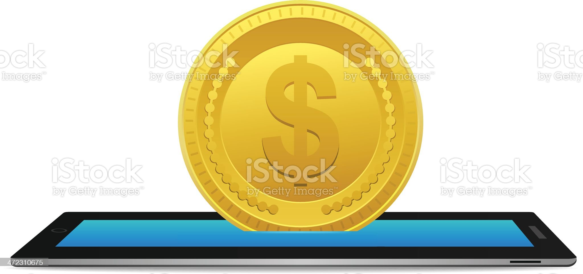 Online Banking royalty-free stock vector art