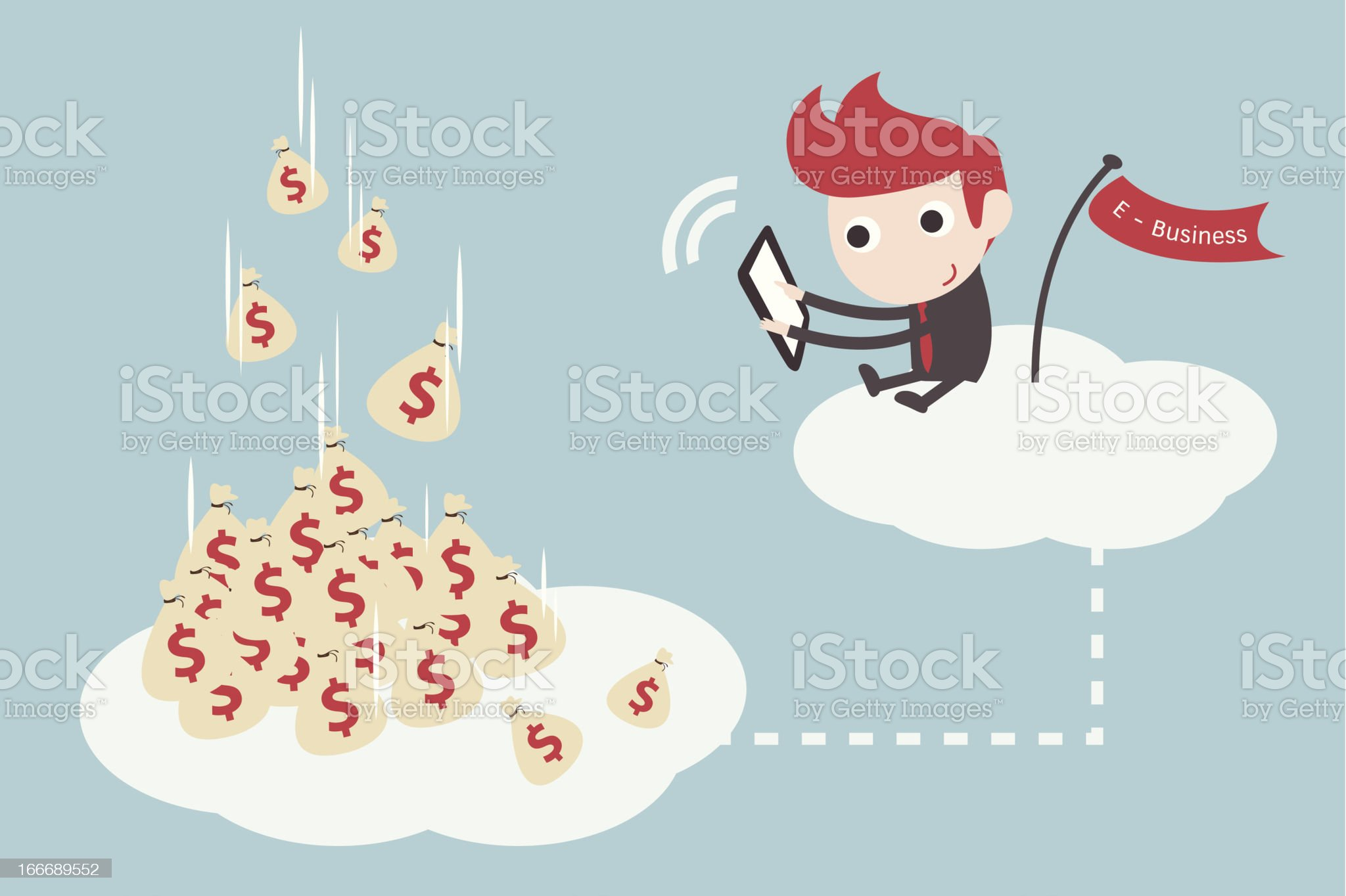 online business royalty-free stock vector art
