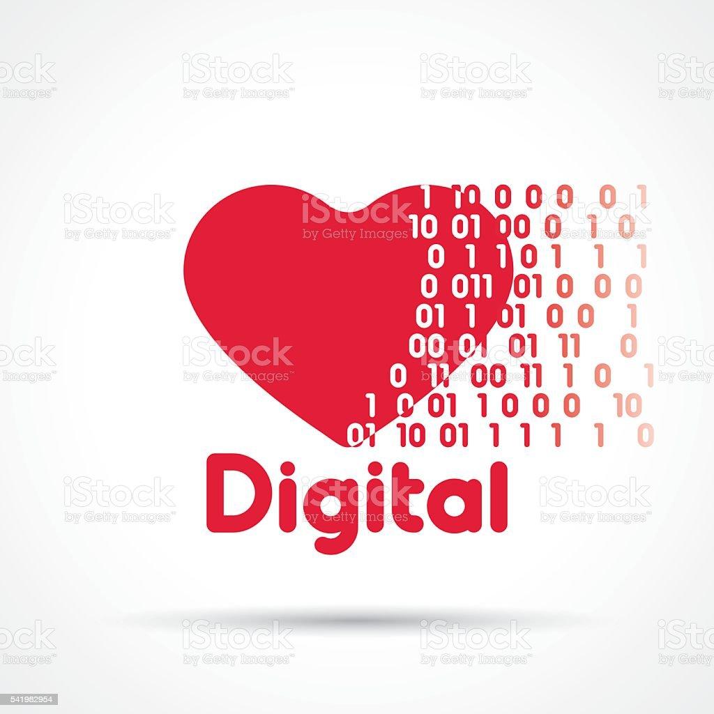 Online dating vector illustration vector art illustration
