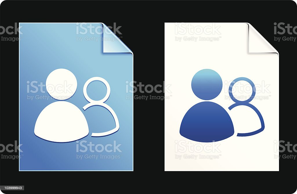 online groups icon royalty-free stock vector art