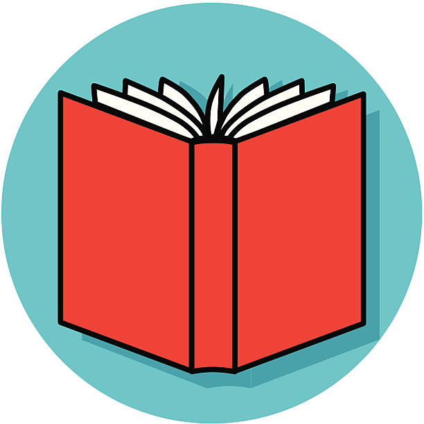 open book back icon stock vector art more images of bonding