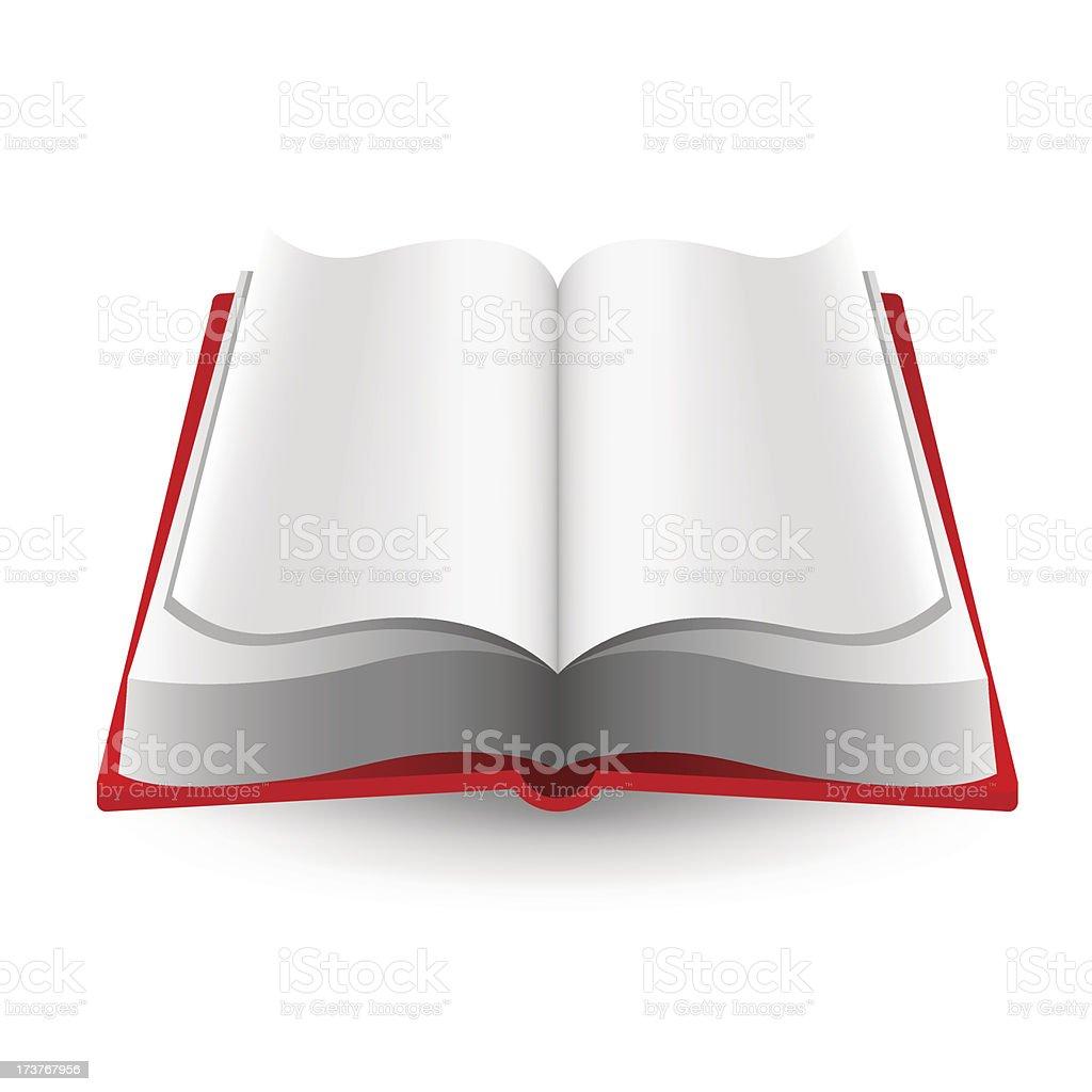 Open book icon royalty-free stock vector art