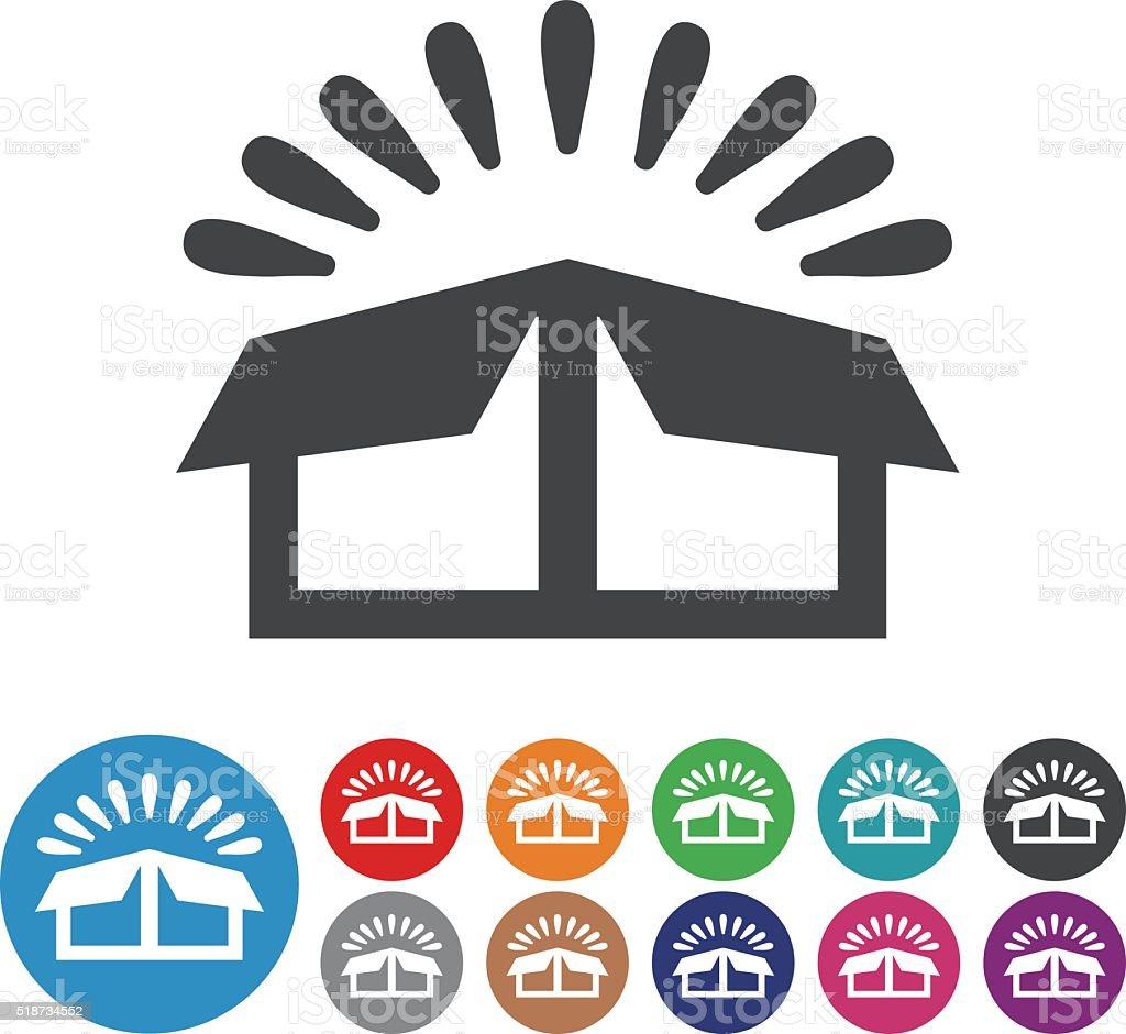 Open Box Icons - Graphic Icon Series vector art illustration