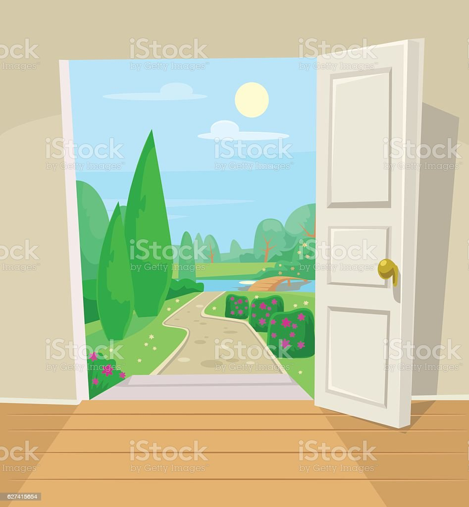 open front door illustration. Brilliant Door Open Front Door Illustration 2018 Images Pictures Cartoon With T