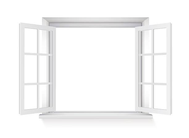 Offenes fenster vektorgrafiken und illustrationen istock for Fenster offen