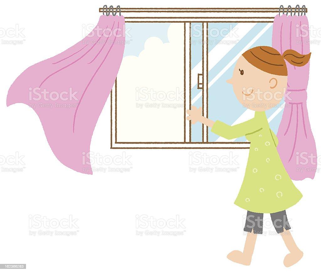 Fenster schließen clipart  Fenster öffnen Vektorgrafiken und Illustrationen - iStock