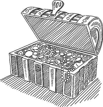 Treasure Chest Clip Art, Vector Images & Illustrations ...