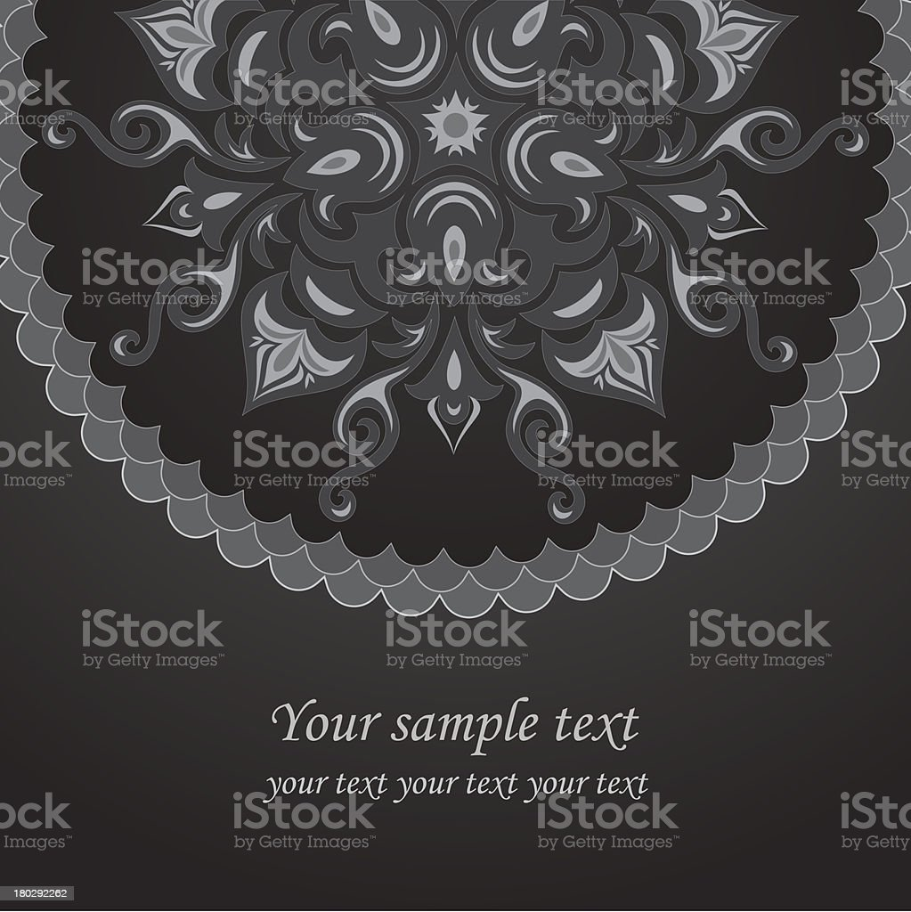 Openwork background in gray colors royalty-free stock vector art