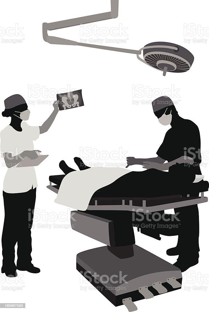 Operation vector art illustration
