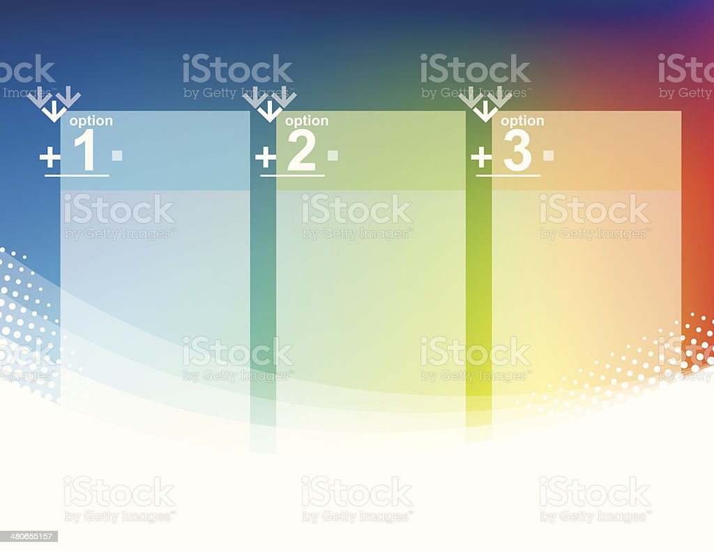 Option Tags royalty-free stock vector art