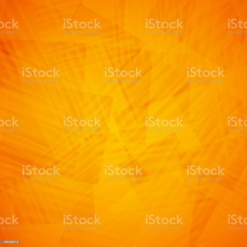Orange abstract background design vector art illustration
