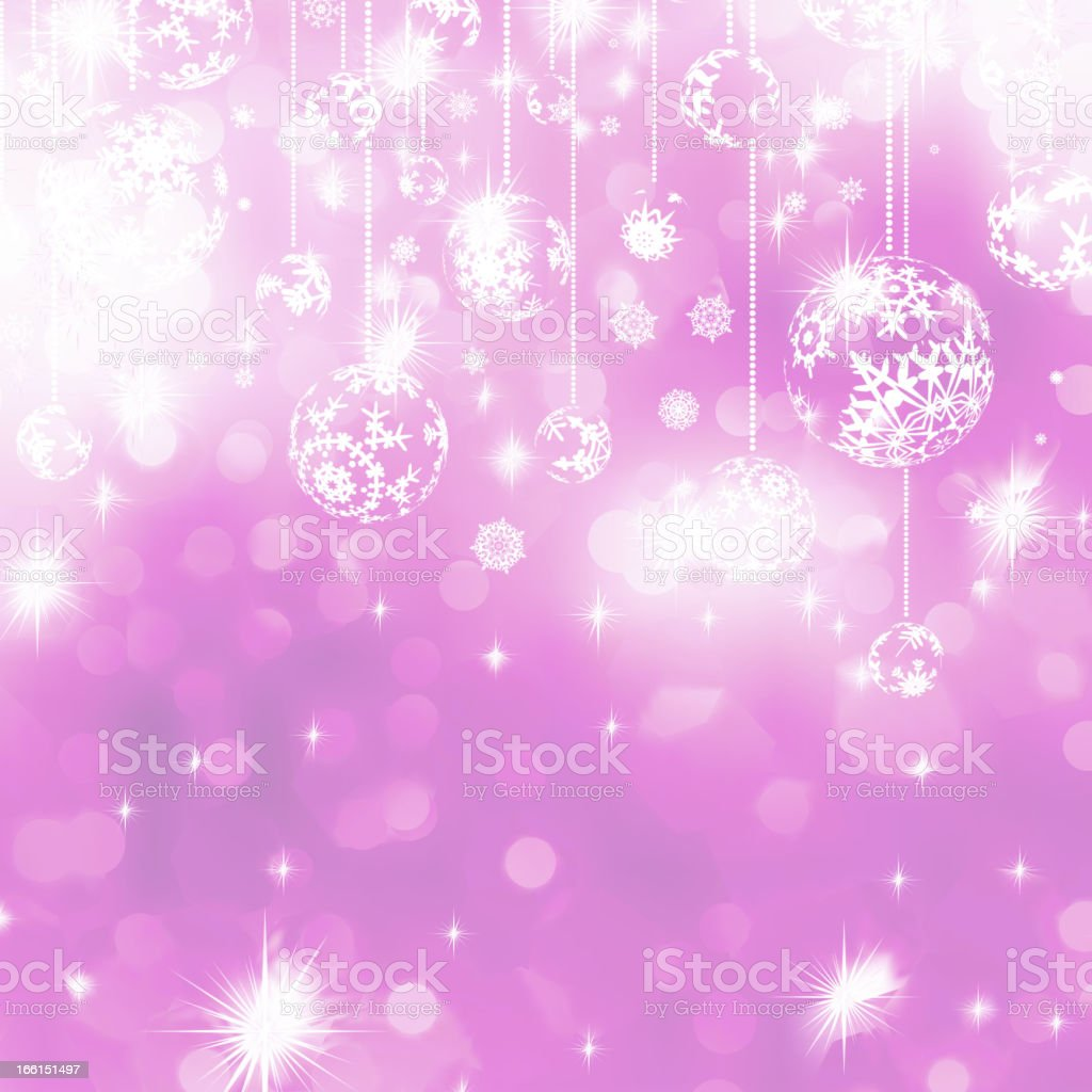 Orange Christmas Background. EPS 8 royalty-free stock vector art