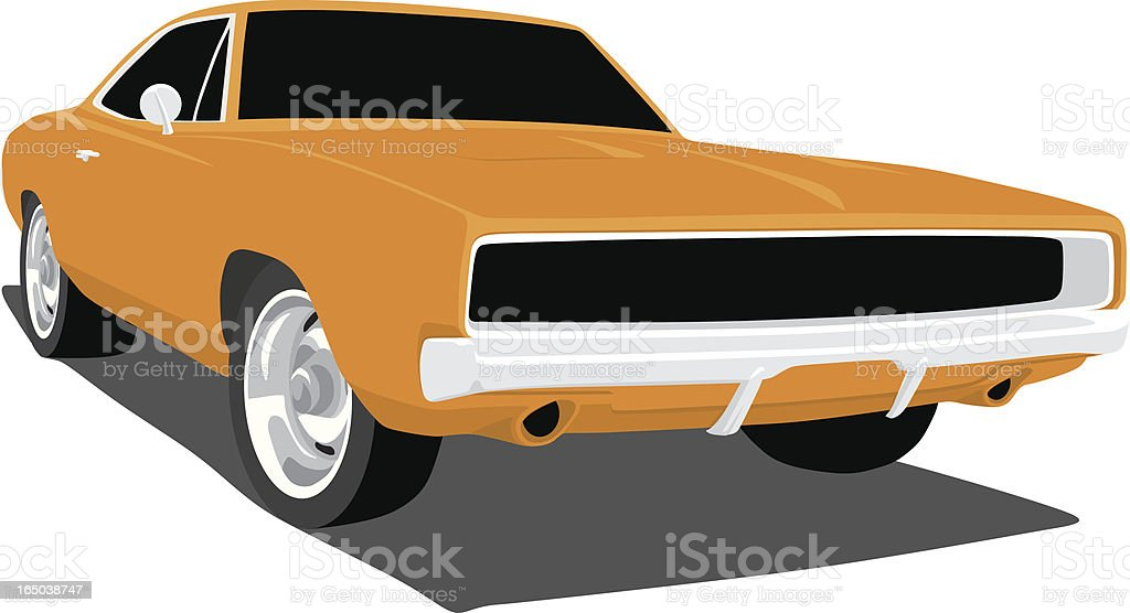 Dodge Charger Clip Art, Vector Images & Illustrations - iStock