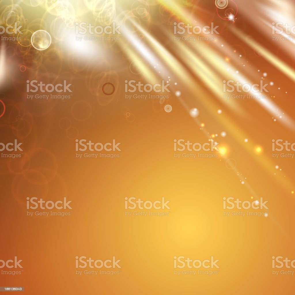 Orange light abstract background. royalty-free stock vector art