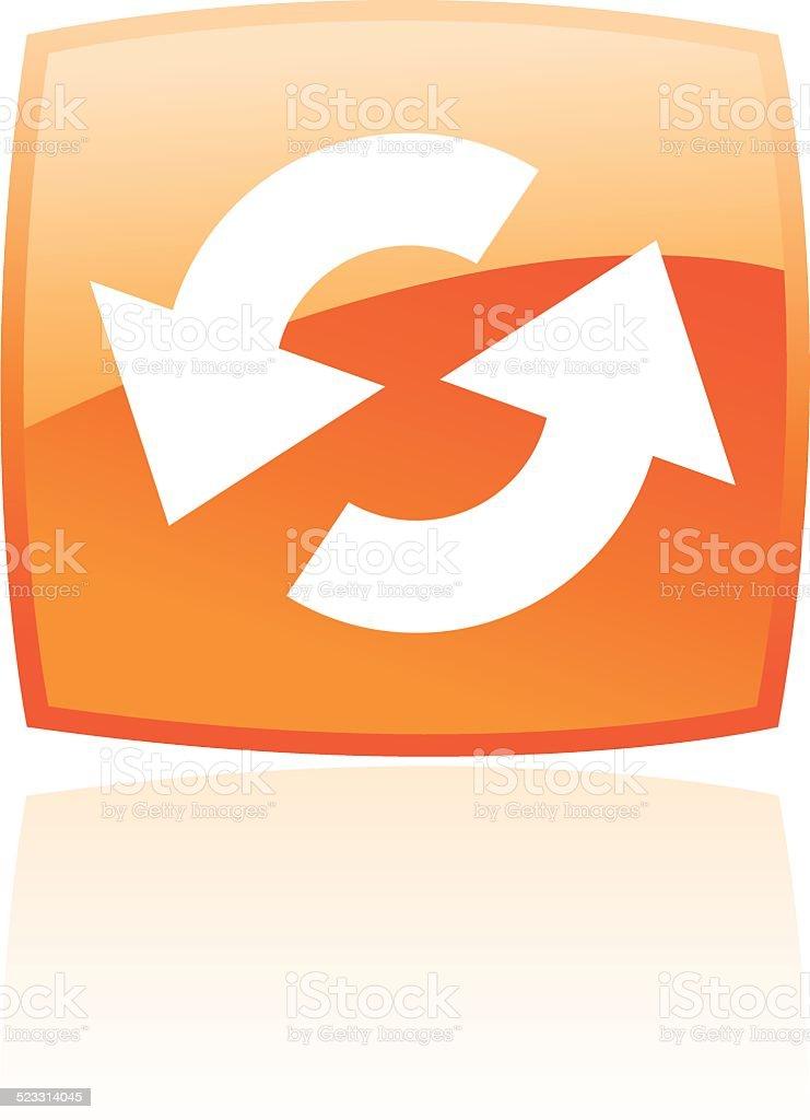 Orange ressourcez-vous stock vecteur libres de droits libre de droits