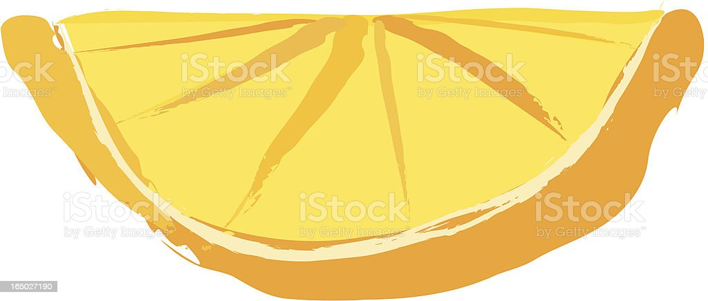 Orange Slice royalty-free stock vector art