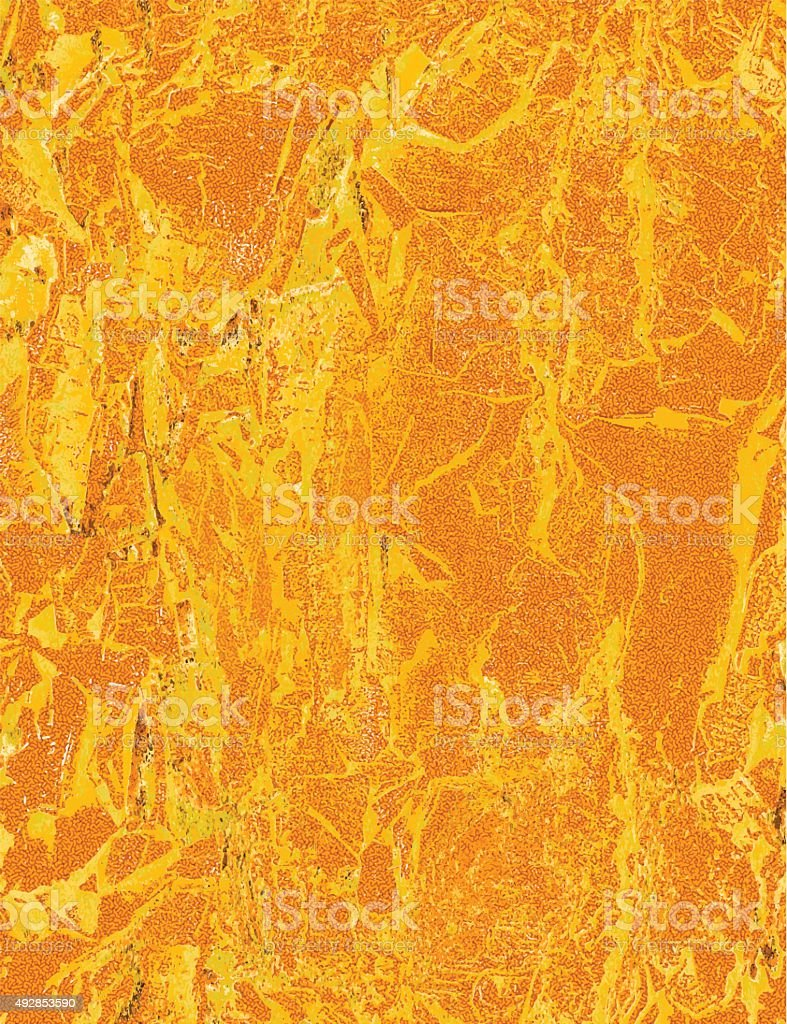Orange Textured Background vector art illustration