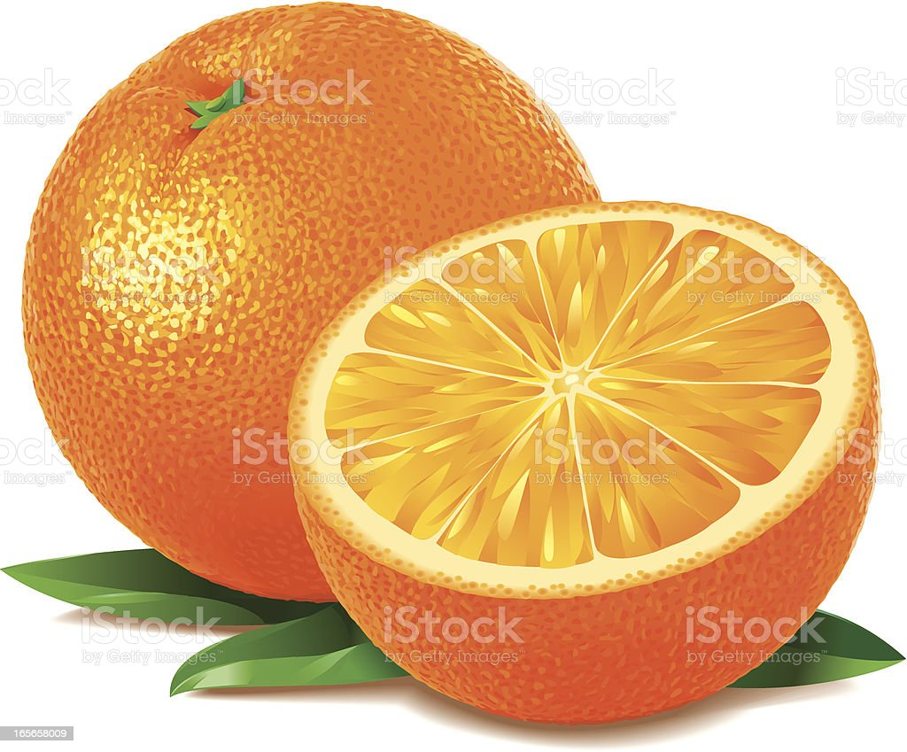 Orange royalty-free stock vector art