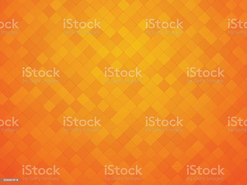 orange yellow tiles vector art illustration