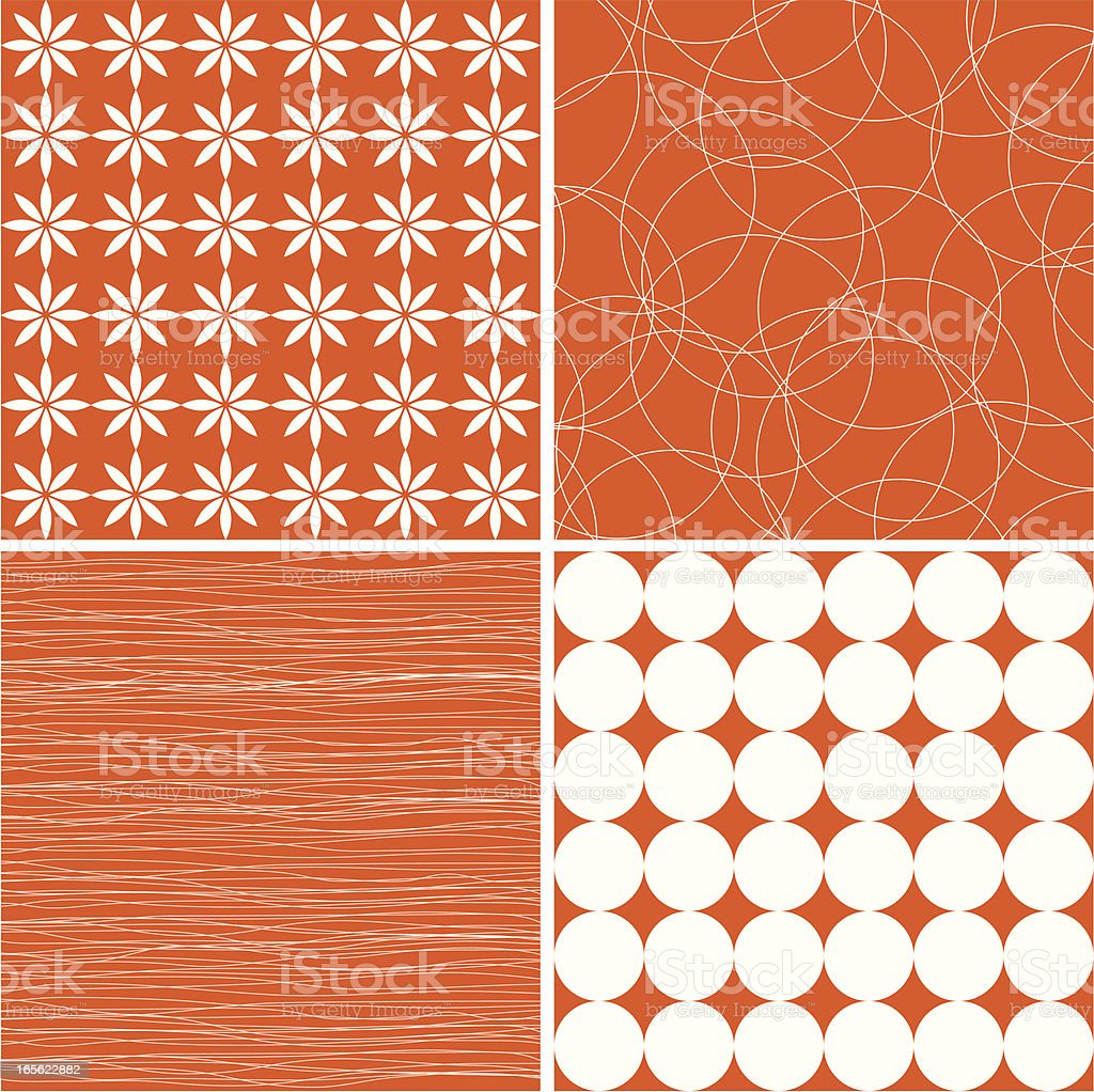 Oranges backgrounds royalty-free stock vector art
