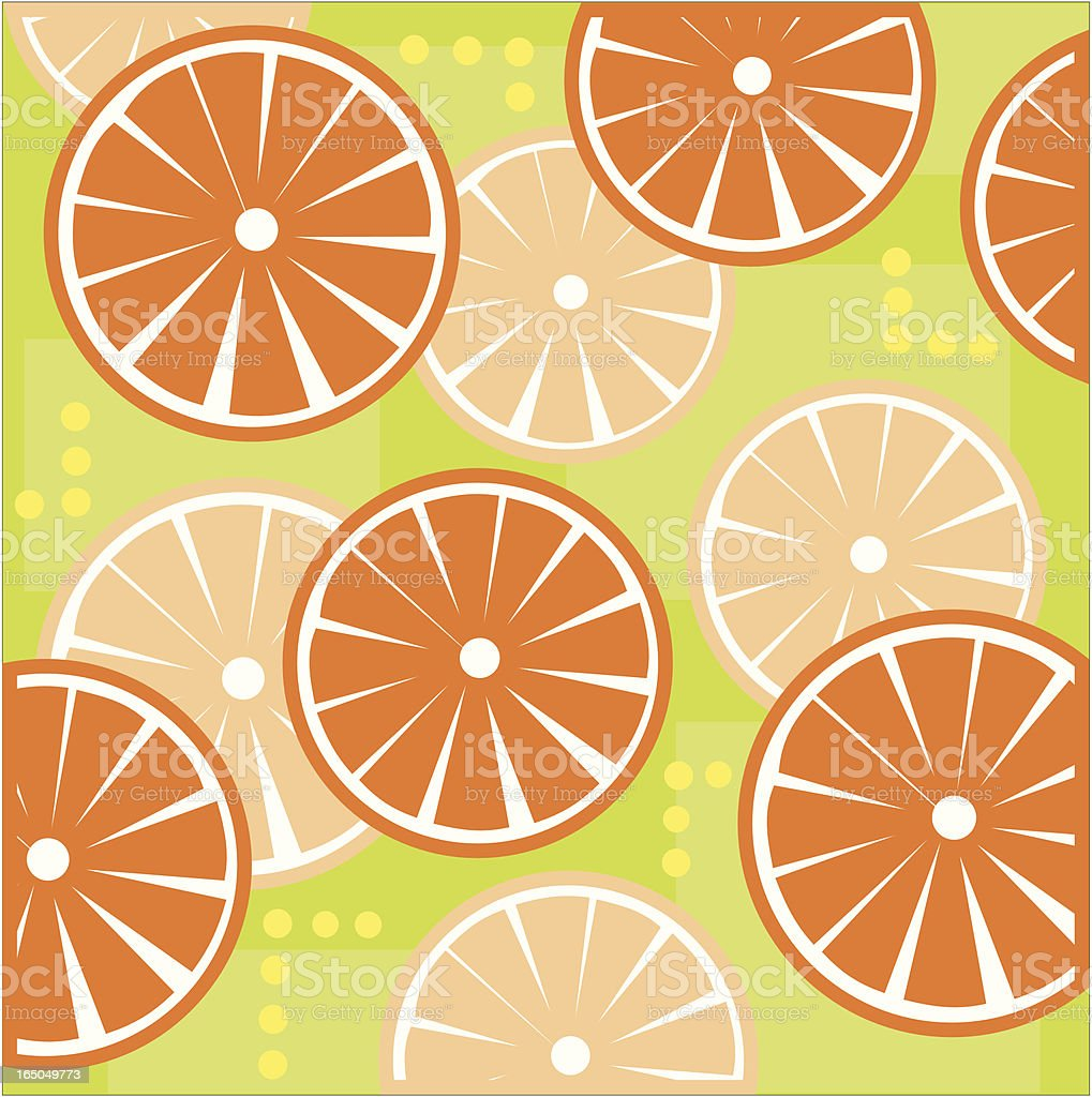 Oranges royalty-free stock vector art