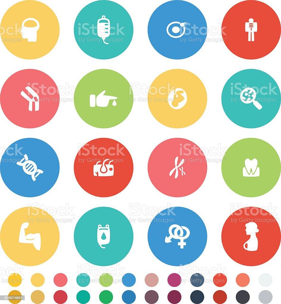 Organ Icon vector art illustration