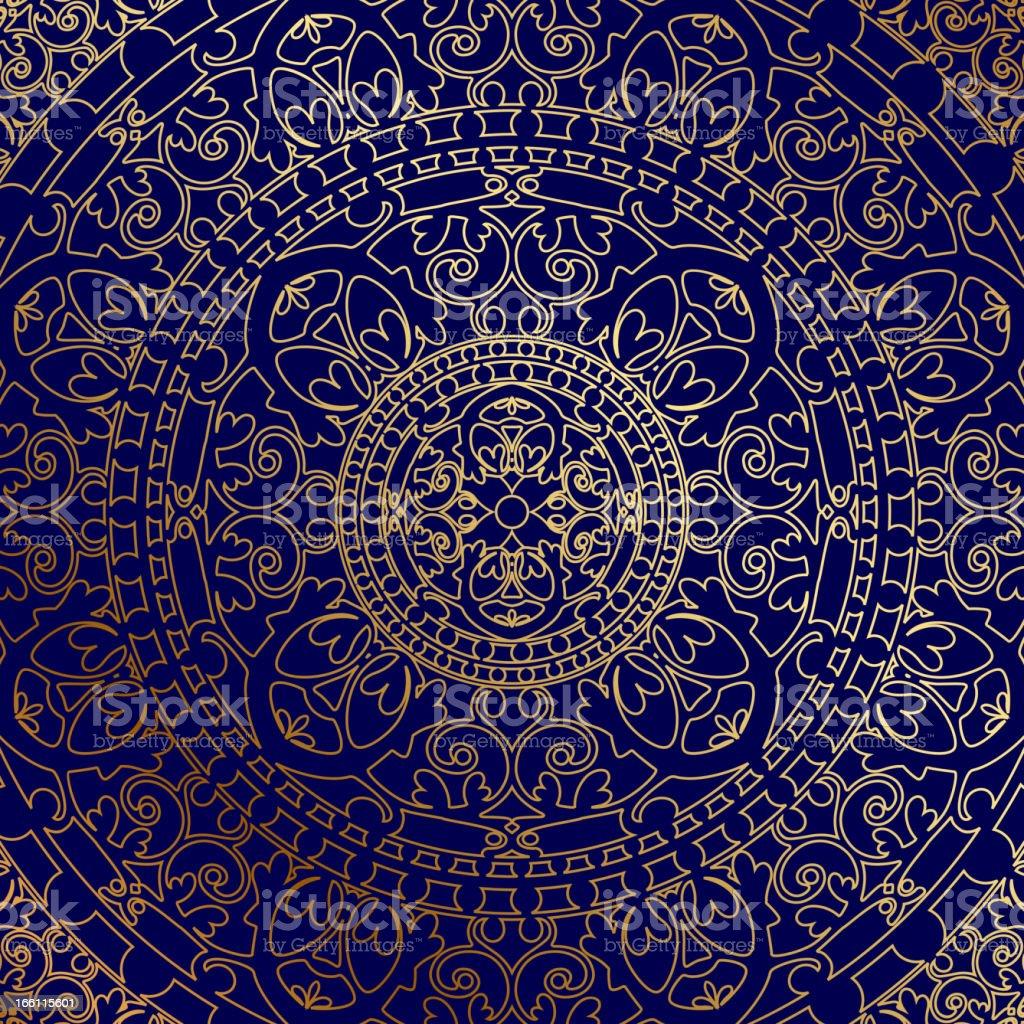 oriental background vector art illustration