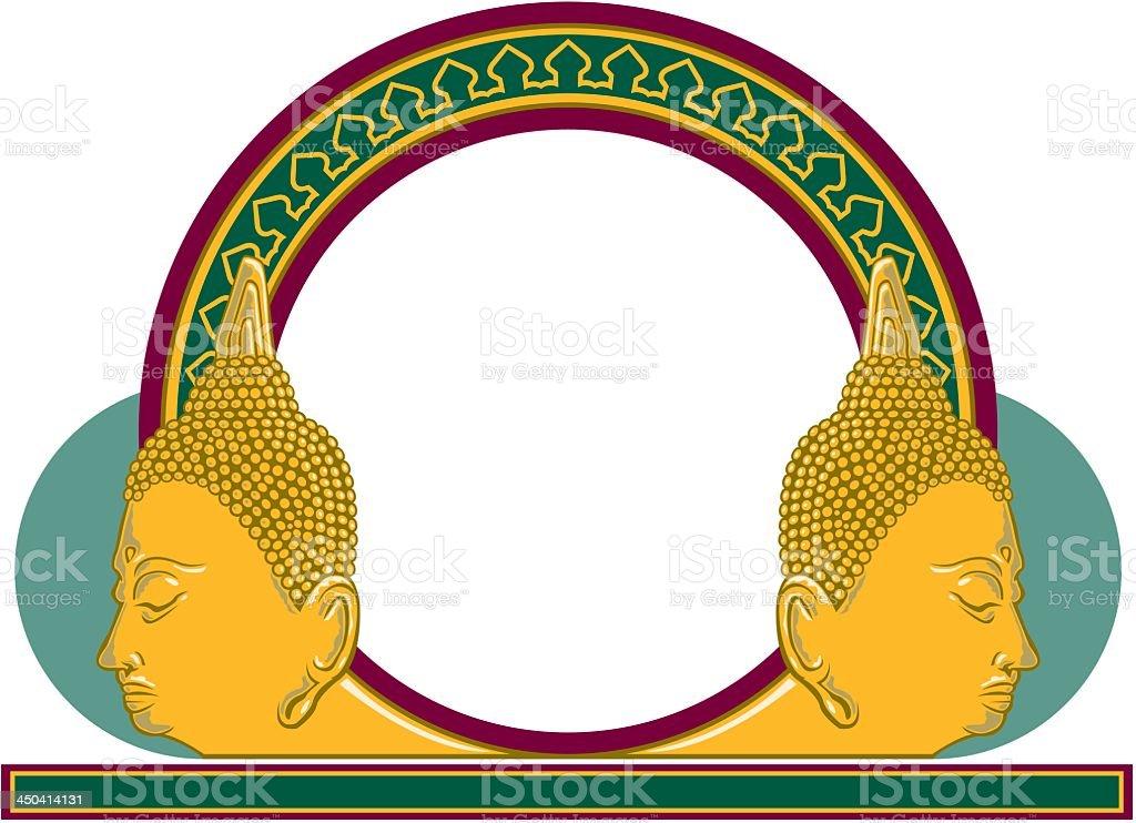 Oriental Emblem royalty-free stock vector art