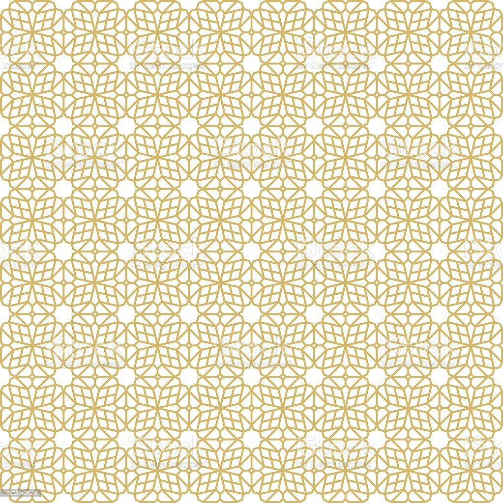 Oriental Seamless Pattern - Illustration vector art illustration