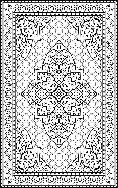 Persian Carpet Clip Art Vector Images Amp Illustrations