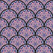 oriental tile seamless pattern