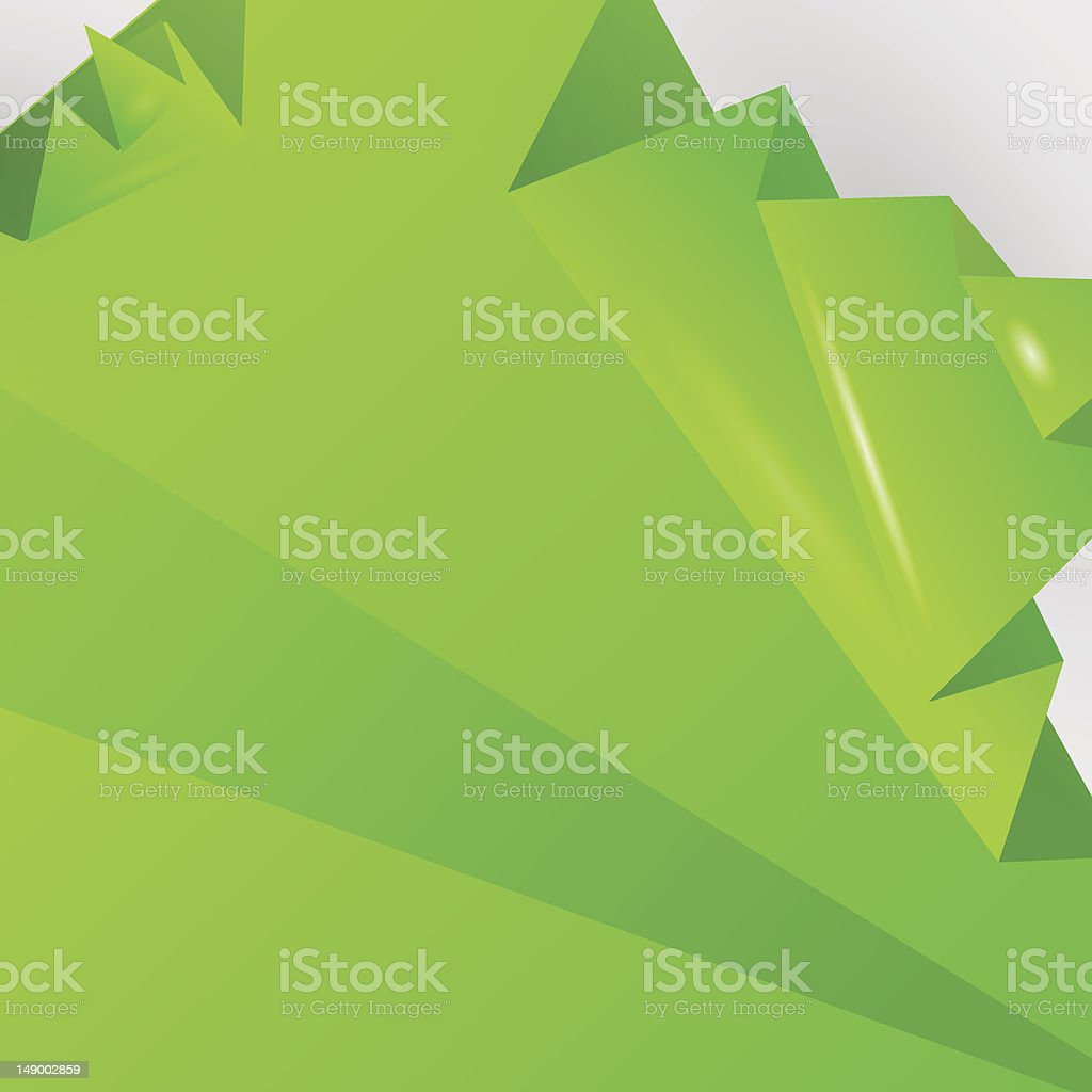 Origami background royalty-free stock vector art