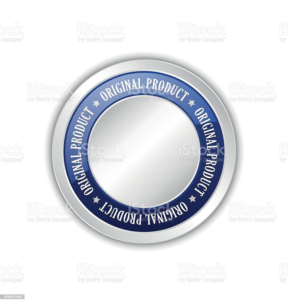 Original product badge vector art illustration