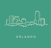 Orland Skyline Sketch