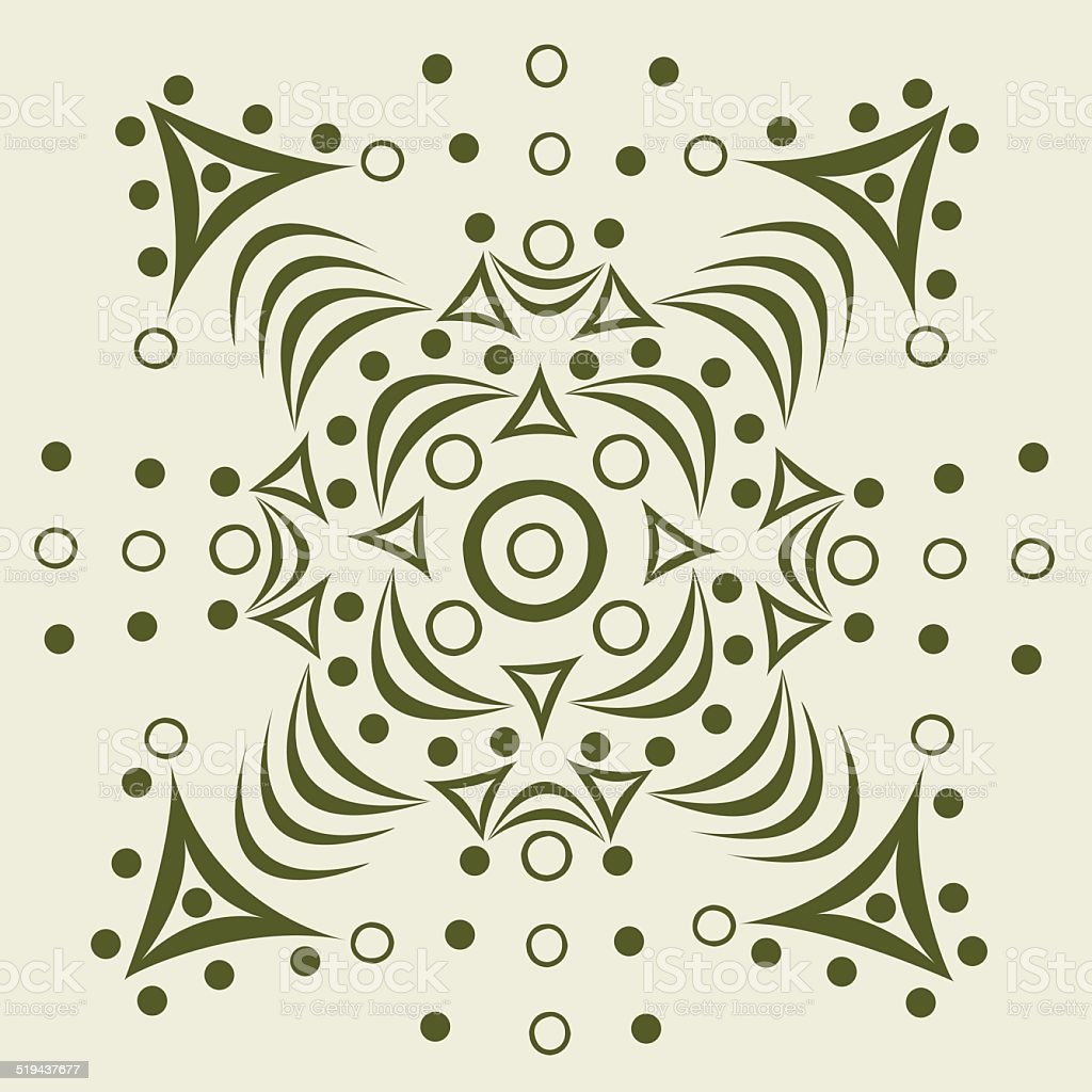 Ornament abstract pattern royalty-free stock vector art