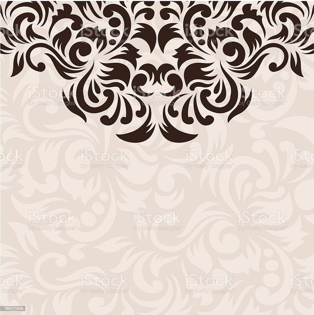 Ornament Background vector art illustration