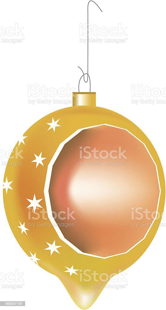 Ornament Orange Gold royalty-free stock vector art