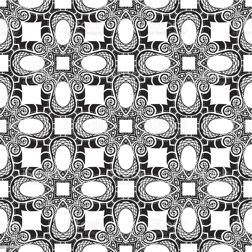 ornament pattern royalty-free stock vector art