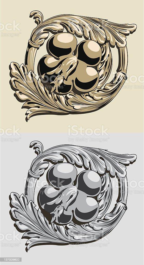 Ornament Roman. royalty-free stock vector art