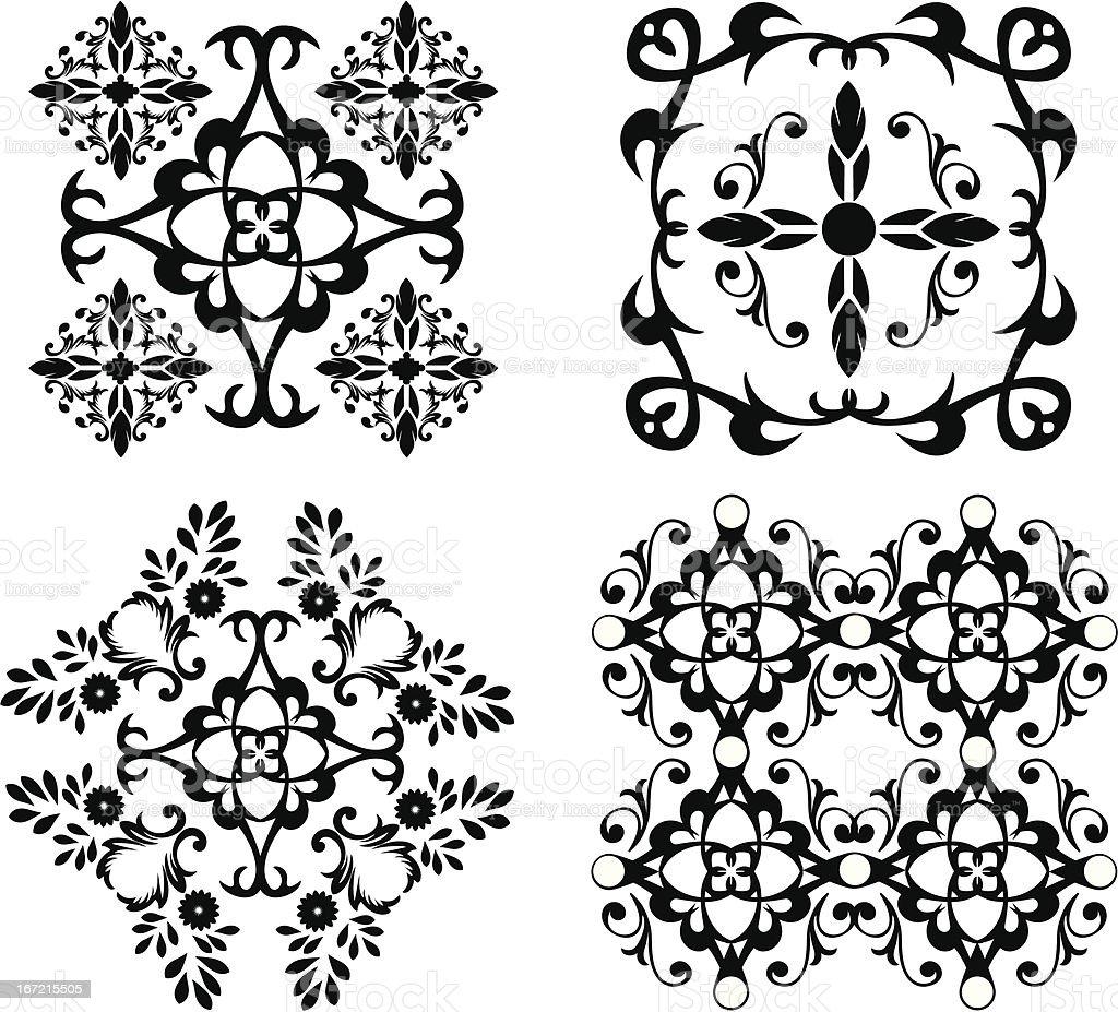 ornament royalty-free stock vector art