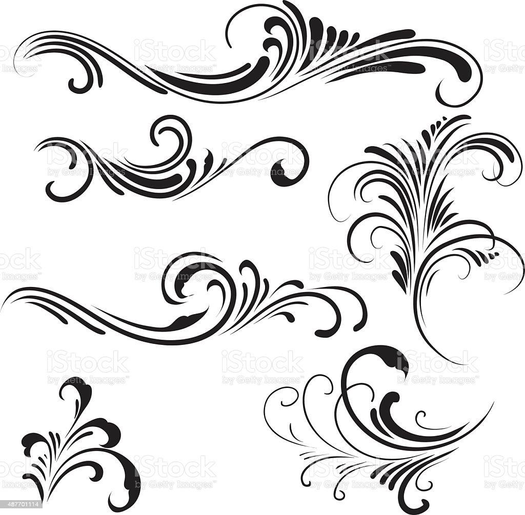 Ornament vector art illustration
